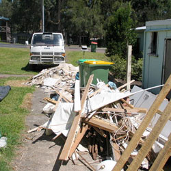Castle Cove rubbish removal